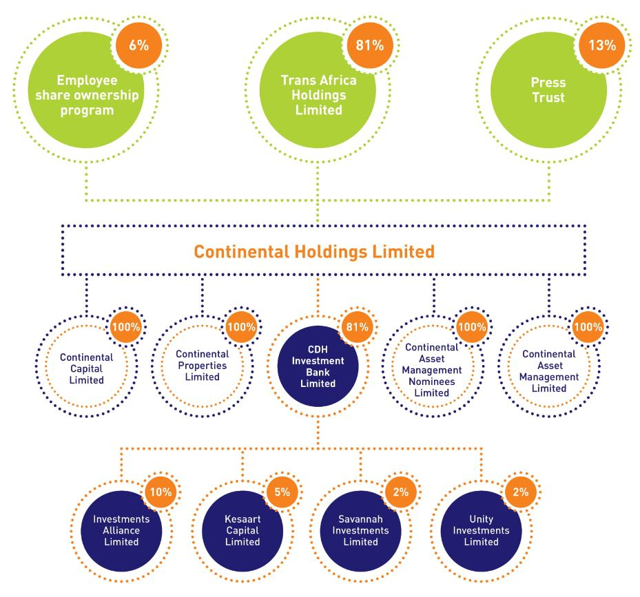 CDHIB Shareholding Structure